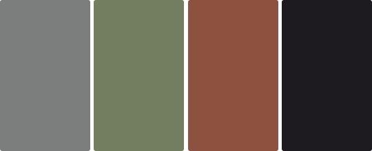 Цветовая гамма стиля Лофт