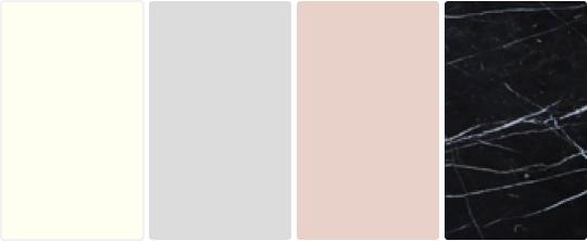 Цветовая гамма стиля Неоклассика