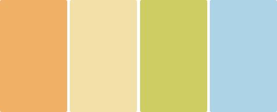 Цветовая гамма стиля Прованс